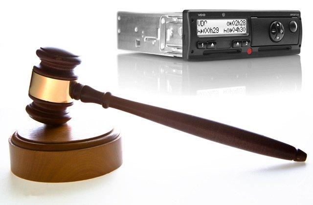 Zakonodaja in tahografi